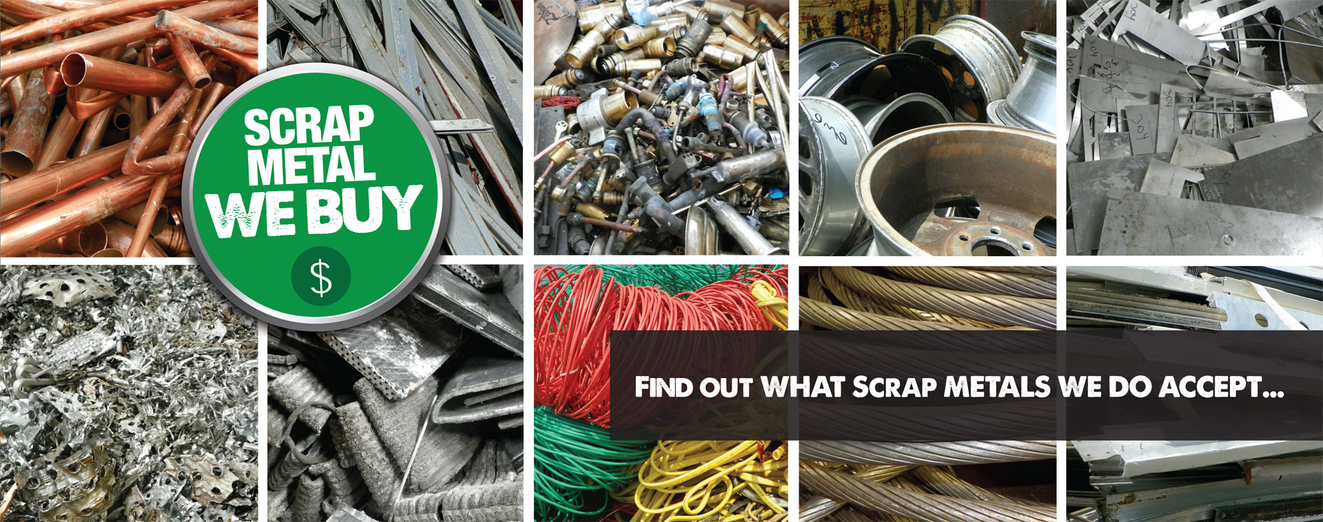 Scrap Metals We Accept - Astro City Scrap Metal