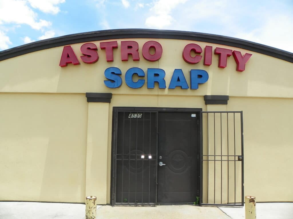 Houston TX where to sell scrap copper